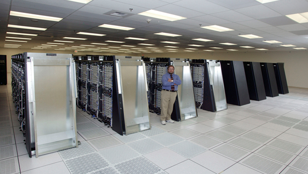 IBM Blue Gene supercomputer with linux